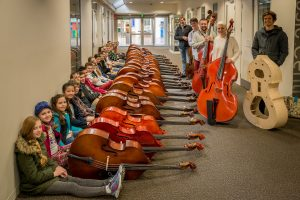 2016 Double Bass Workshop Participants and Faculty