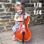 1/8 & 1/4 sized Cellos